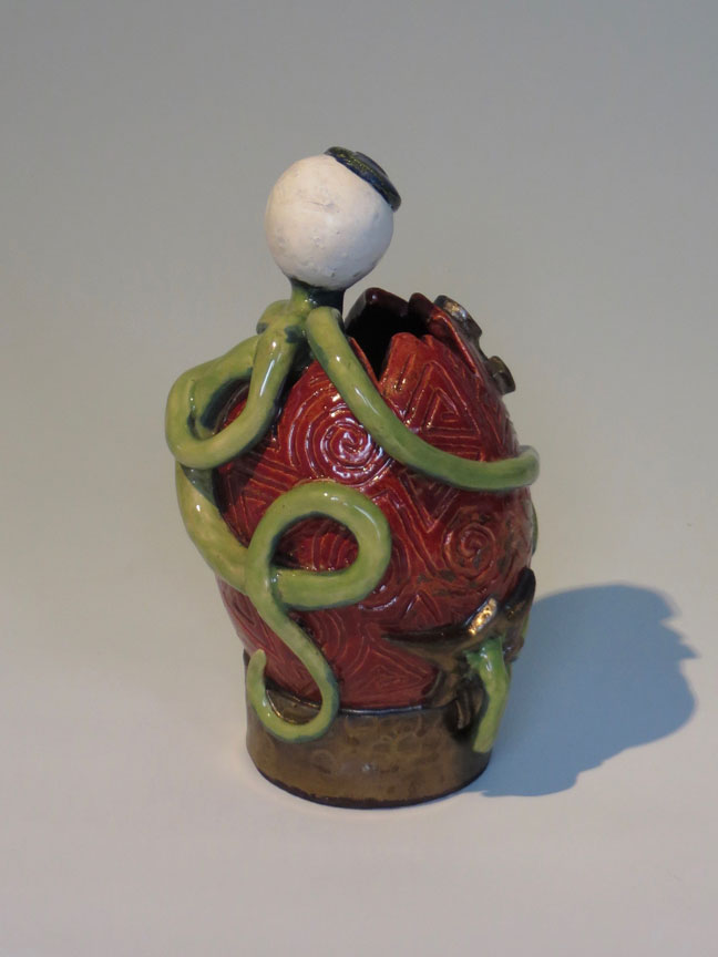 Alien Egg Vase No. 1, side (2017)