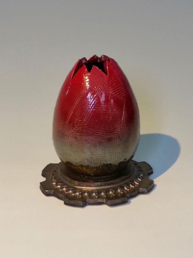 Alien Egg Vase No. 2 by Kevin Eaton