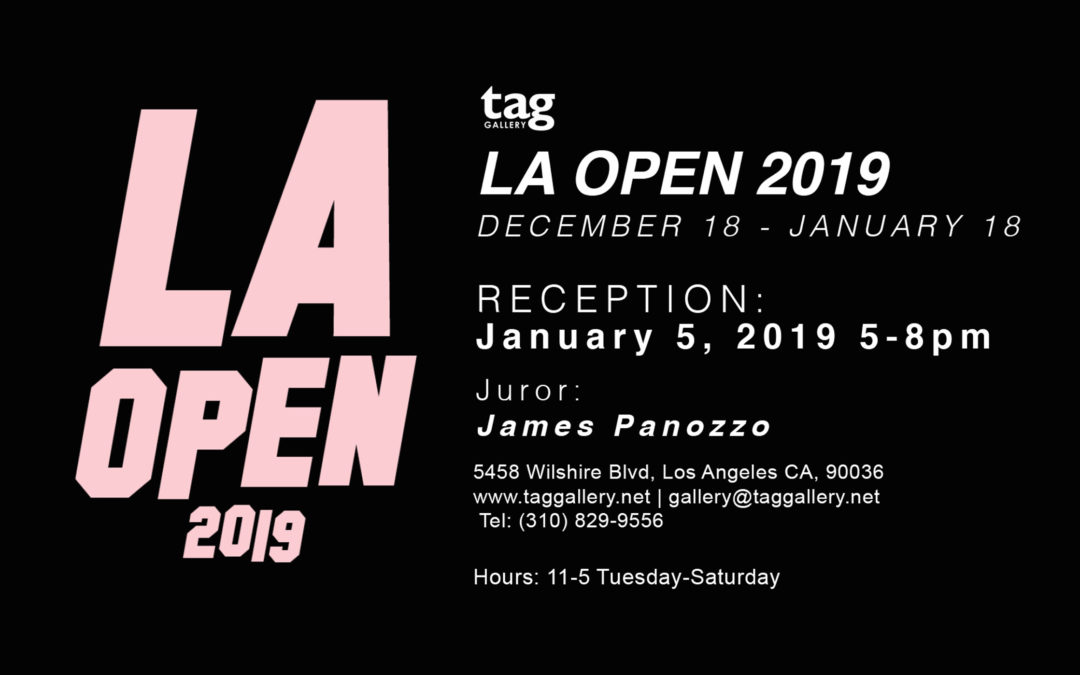 Bam! Bam! Vase Featured In TAG Gallery LA OPEN 2019