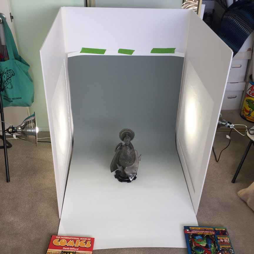 Kevin Eaton's Homemade Lightbox
